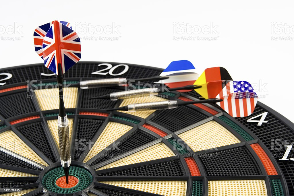 Bullseye foto stock royalty-free