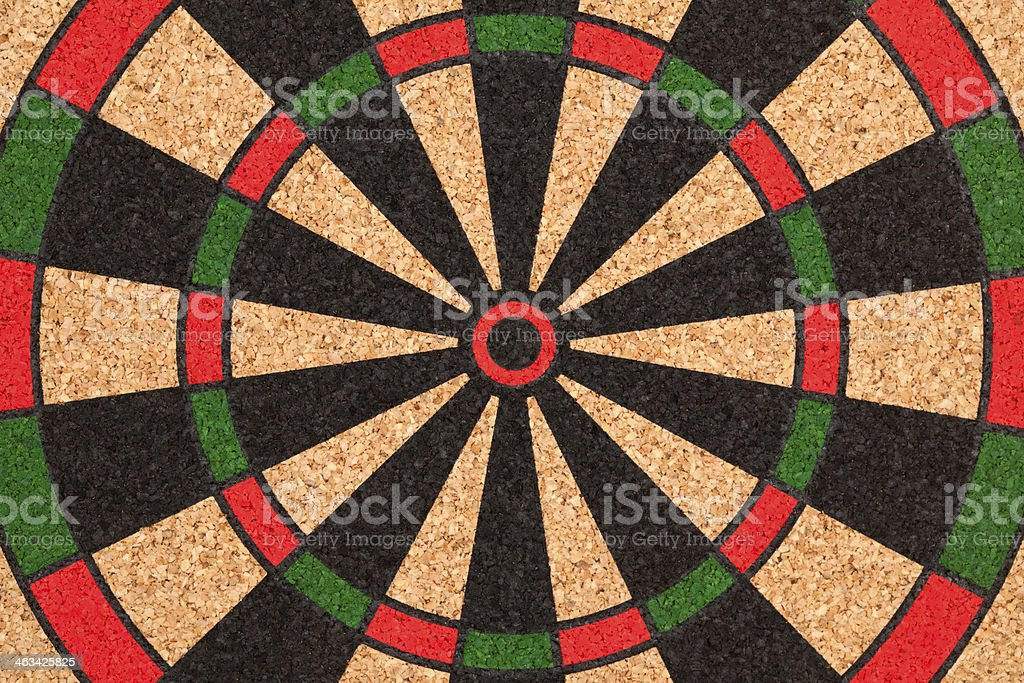 Bull's-Eye Target Close-up royalty-free stock photo