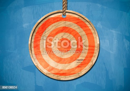 istock Bulls`s eye / Blue Board Concept (Click for more) 856108524