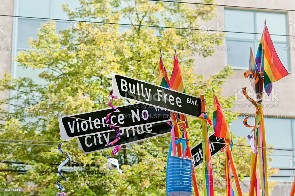 Bully Free Blvd royalty-free stock photo