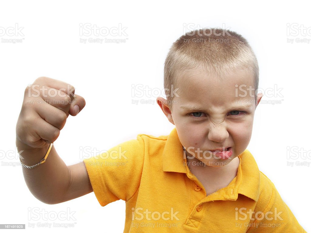 Bully royalty-free stock photo