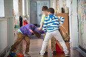 Bullying In The School Corridor
