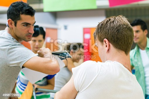 istock Bullying problems in classroom 499872993