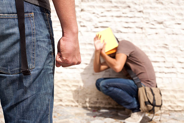 Bullying Victim stock photo