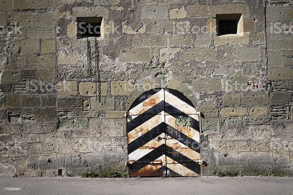 Bastión de la Medieval foto de stock libre de derechos