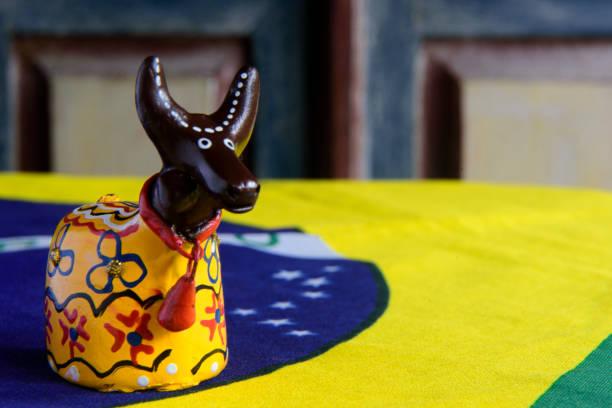 Bumba meu Boi, Maranhão - Brazil Small handmade doll representing the figure of