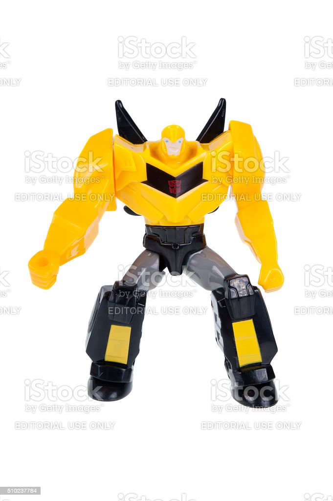Bumblebee 2015 Happy Meal Toy stock photo