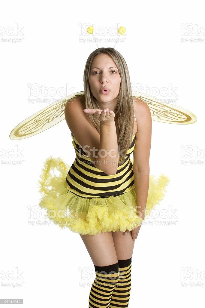 Bumblebee Costume stock photo