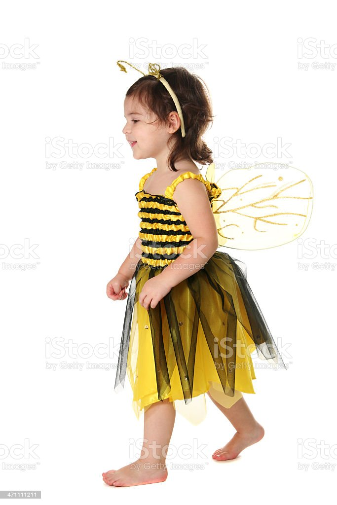 Bumblebee on the Move stock photo
