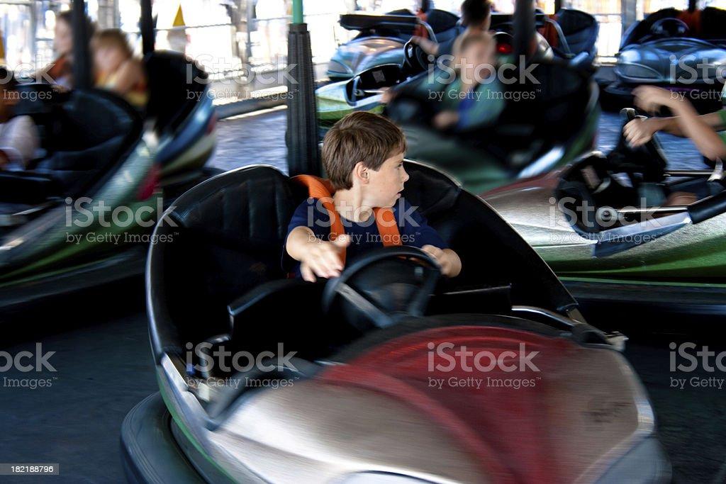 Bumper Cars in the Fair – Foto