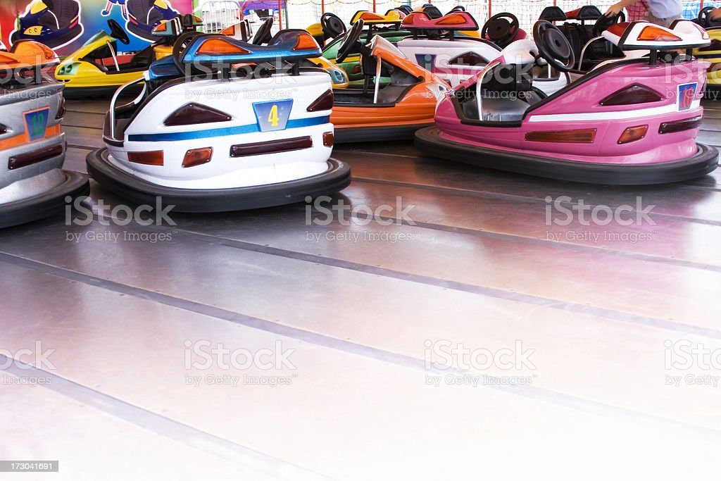 Bumper Cars stock photo