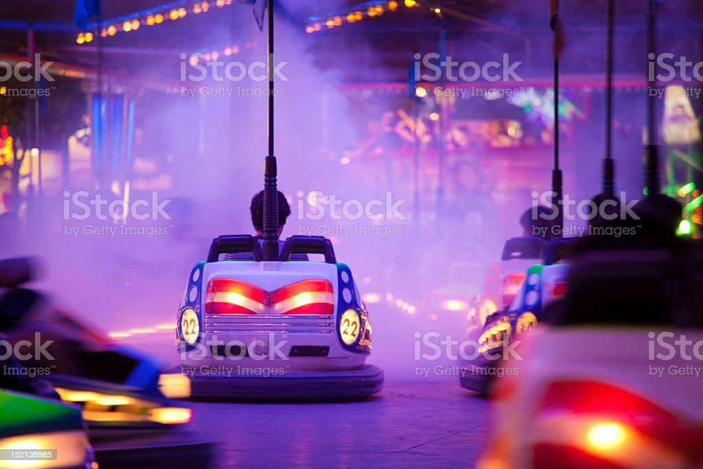 Bumper cars bis Rauch – Foto