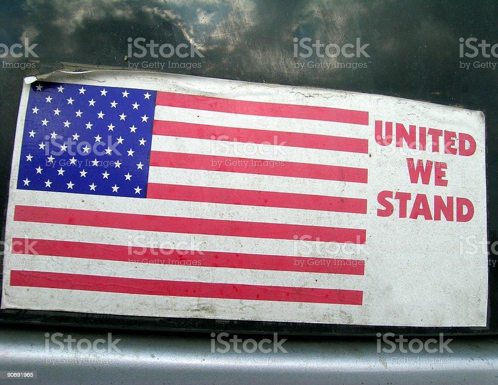 Bumper Sticker royalty-free stock photo