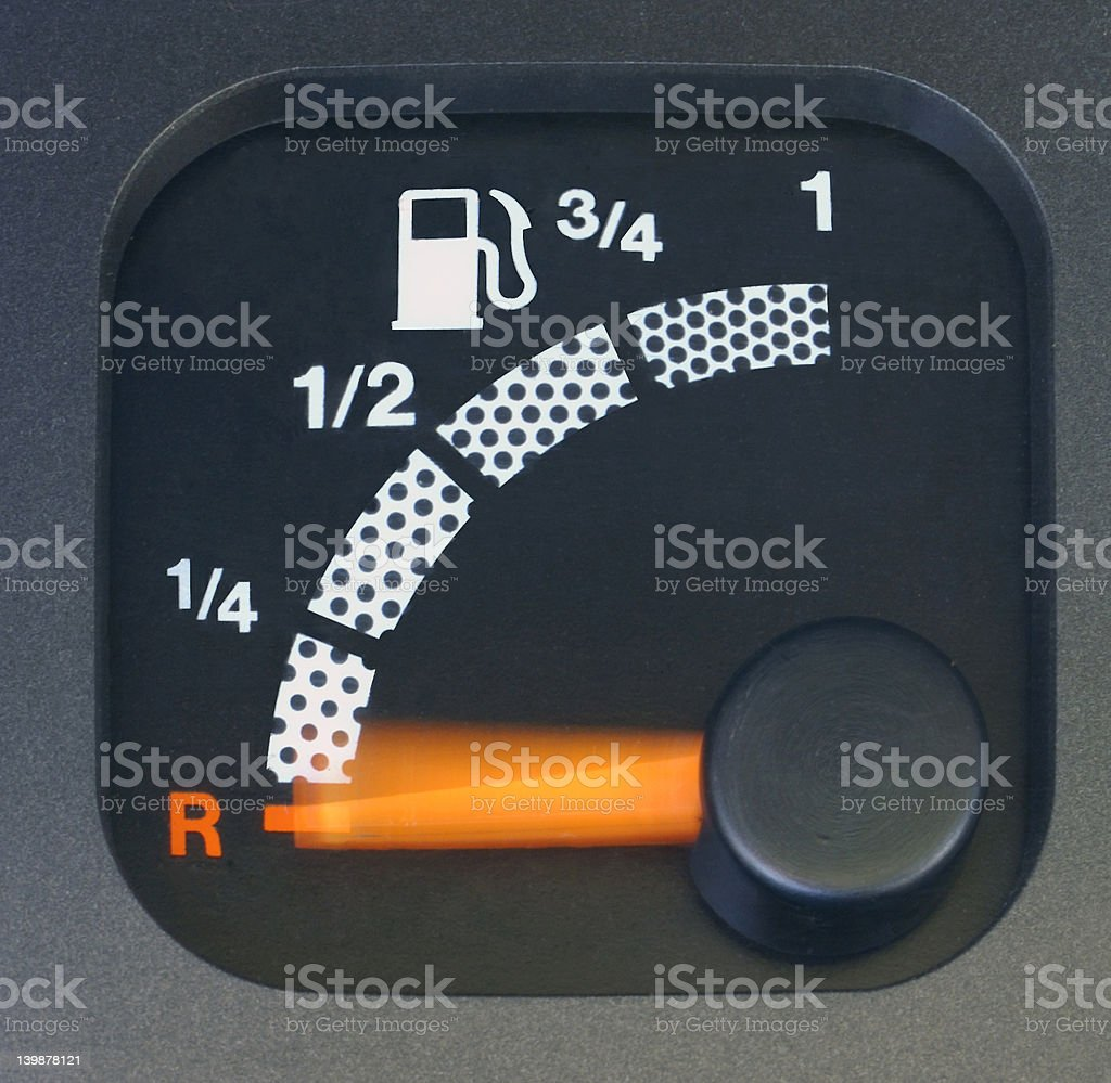 Bumping on empty royalty-free stock photo