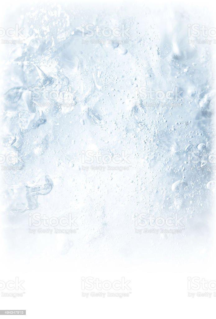 Granuleux glace texture d'arrière-plan - Photo