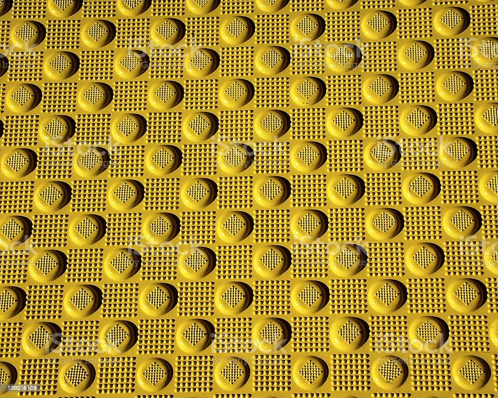 bumpy skid mat royalty-free stock photo
