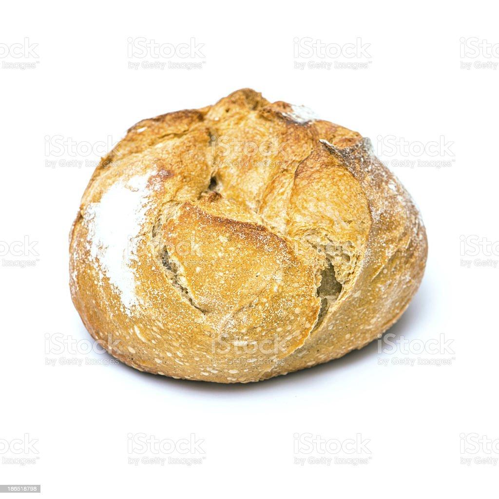 Bun of healthy bread royalty-free stock photo