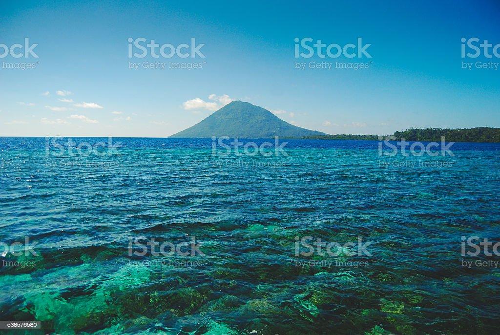 Bunaken reef stock photo