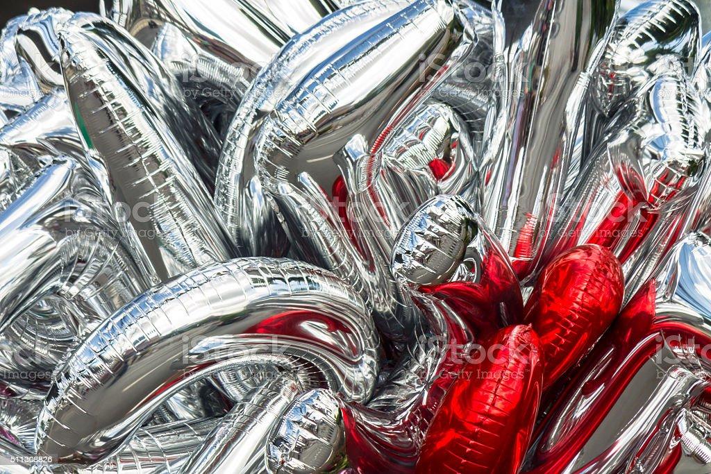 Bunch balloons. stock photo