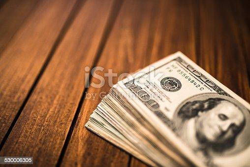Bunch of American dollars