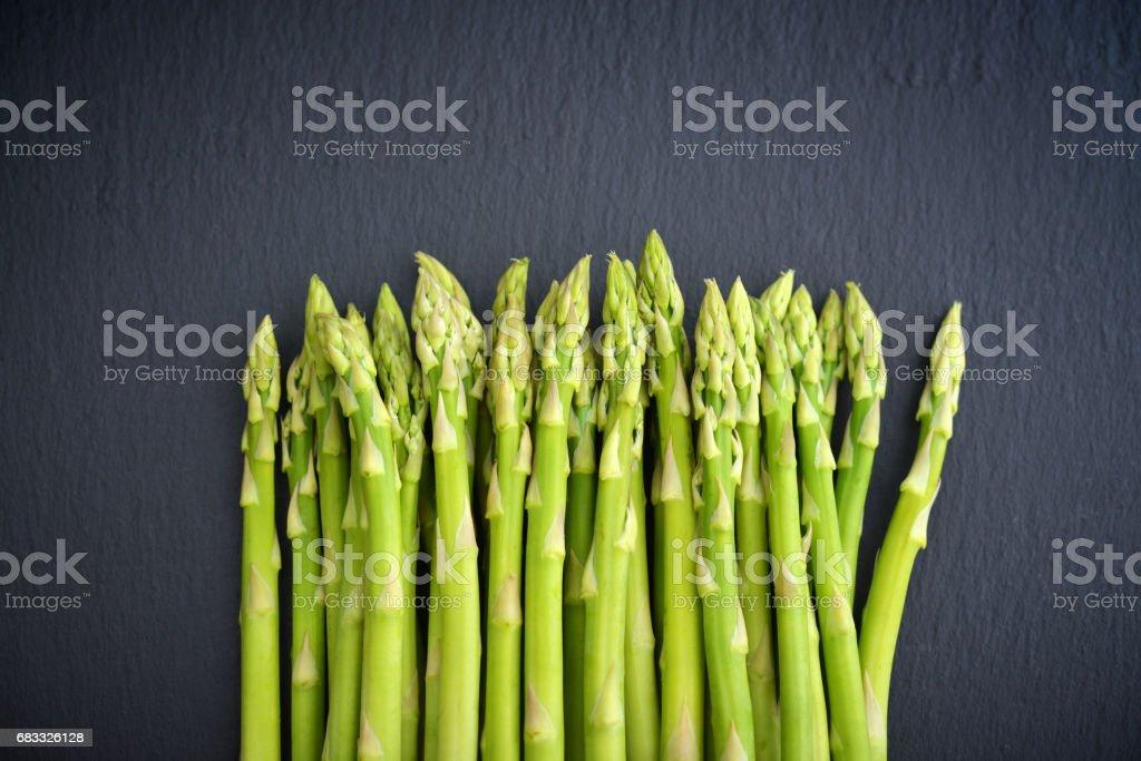 Bos van asperges royalty free stockfoto