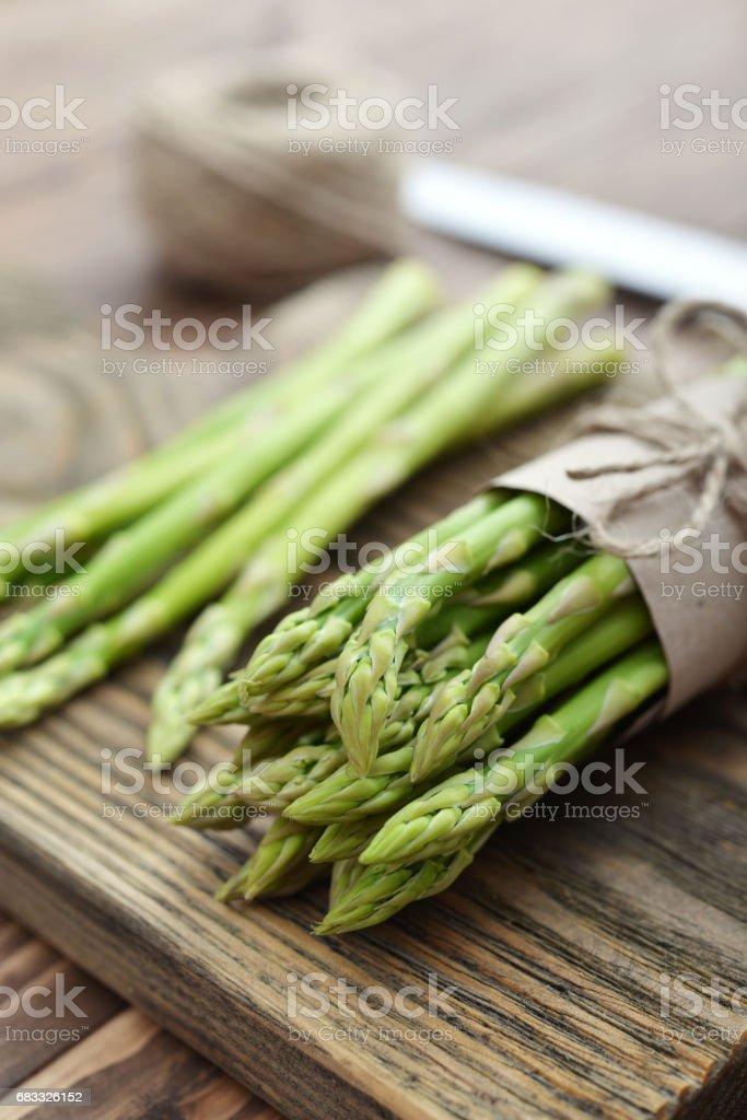Bunch of asparagus zbiór zdjęć royalty-free