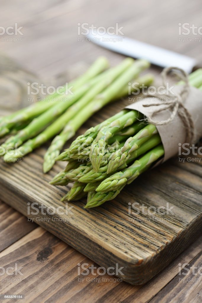 Bunch of asparagus foto stock royalty-free
