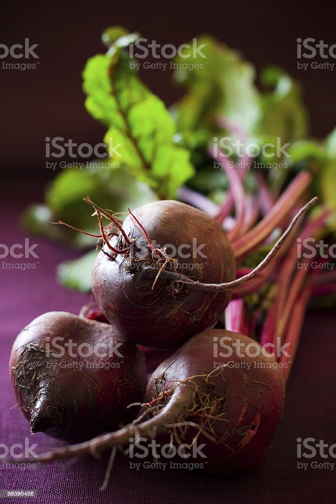 Bunch of beetroot royalty-free stock photo