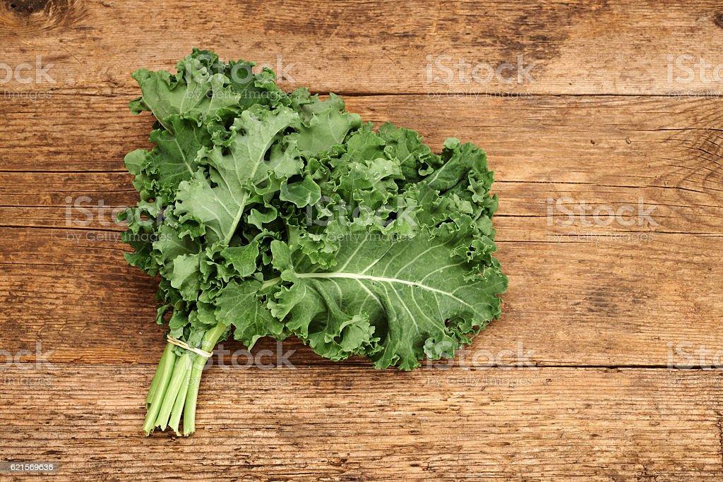 Bunch of broccoli kale photo libre de droits