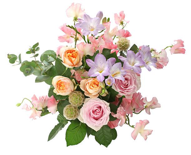 bunch of flowers - blumenarrangement stock-fotos und bilder