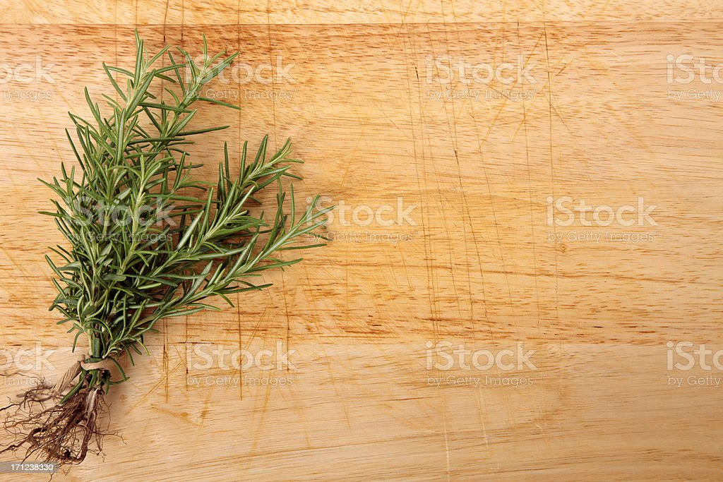 Bunch of fresh rosemary royalty-free stock photo