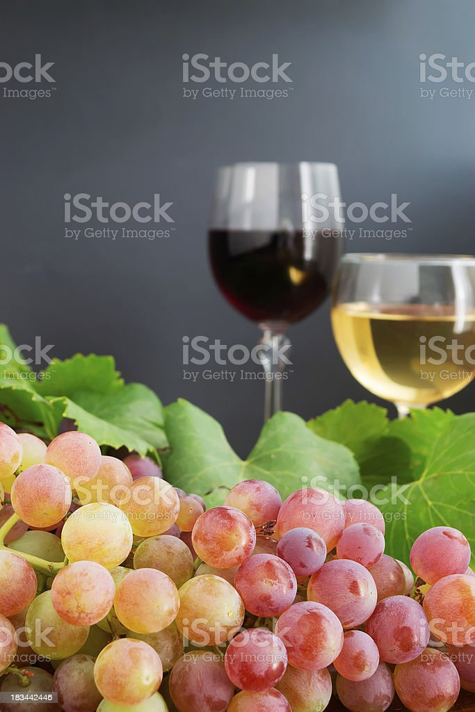 bunch of grape close up royalty-free stock photo