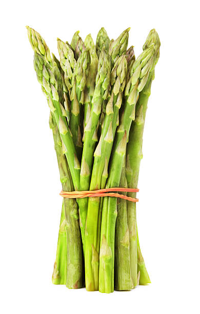 Bunch Of Green Asparagus stock photo