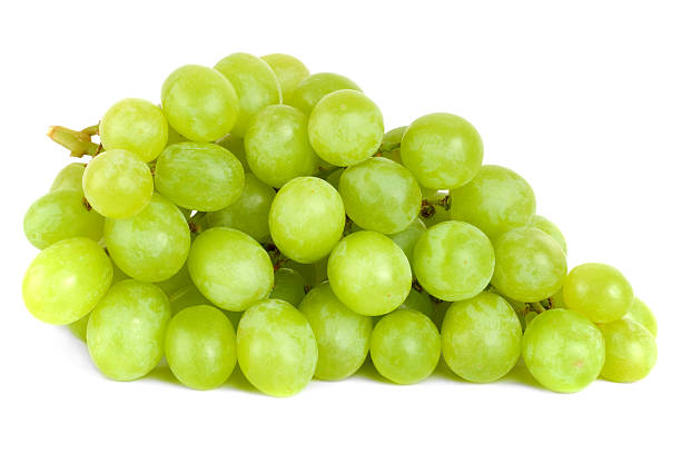 bunch of green grapes laying - 提子 個照片及圖片檔