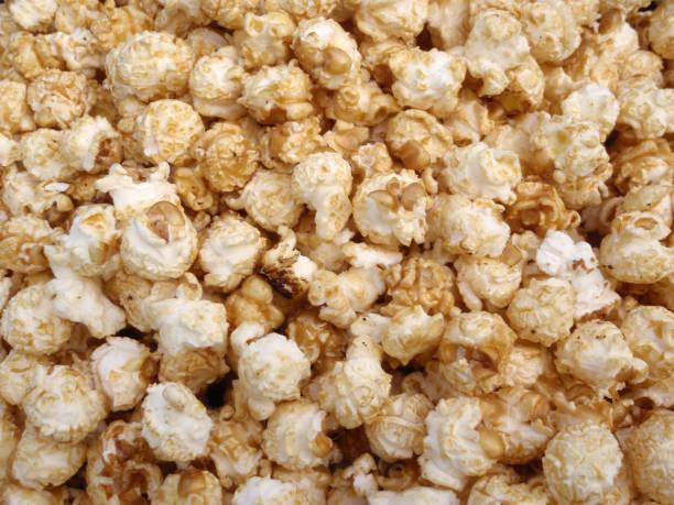 Bunch of Kettle Corn Popcorn stock photo