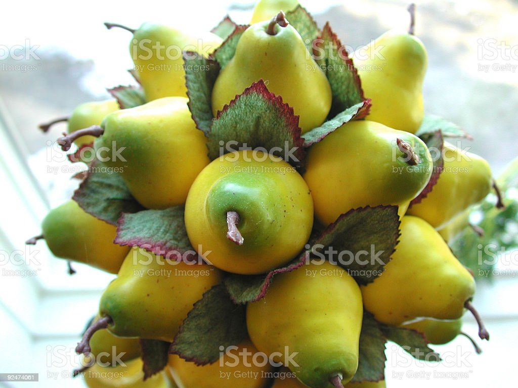 Bunch of Pears royalty-free stock photo
