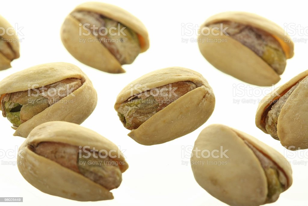 Bunch of Pistachios royalty-free stock photo