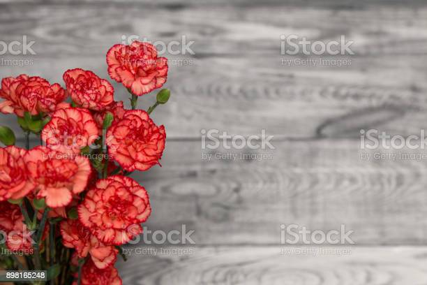Bunch of red and pink cloves flowers on a rustic wooden table blur picture id898165248?b=1&k=6&m=898165248&s=612x612&h=9 c0swghnvnerwdmqtbkqaydfucekbwdkmsmrth grg=