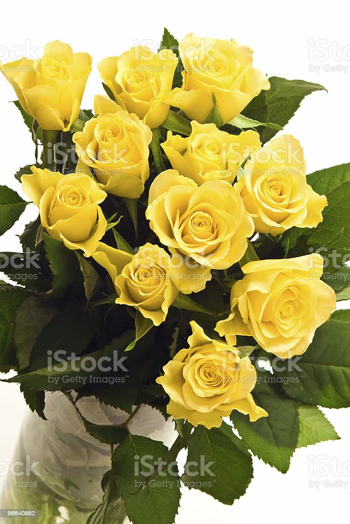 bunch of roses royalty-free stock photo