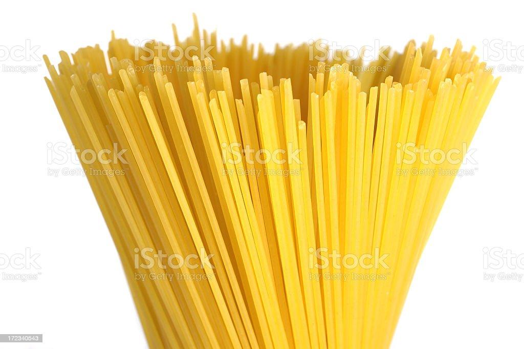 Bunch of spaghetti royalty-free stock photo