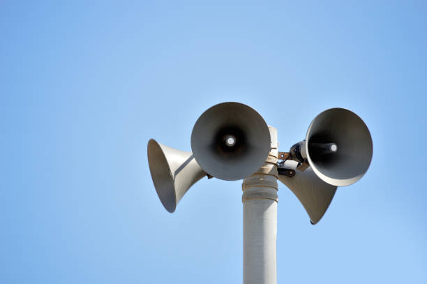 bunch of speakers - loudon stock photos and pictures