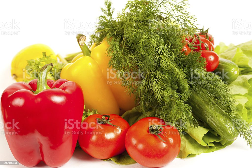 Bunch of vegetables royalty-free stock photo