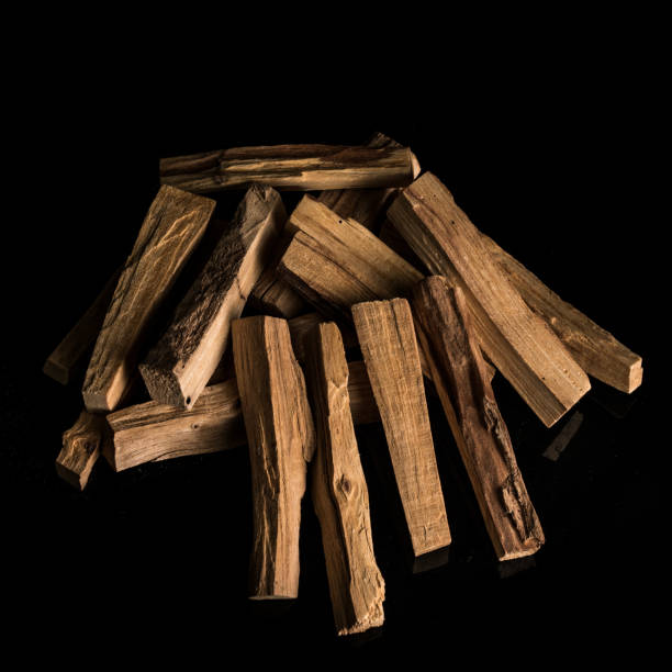 A bunch of wood stock photo
