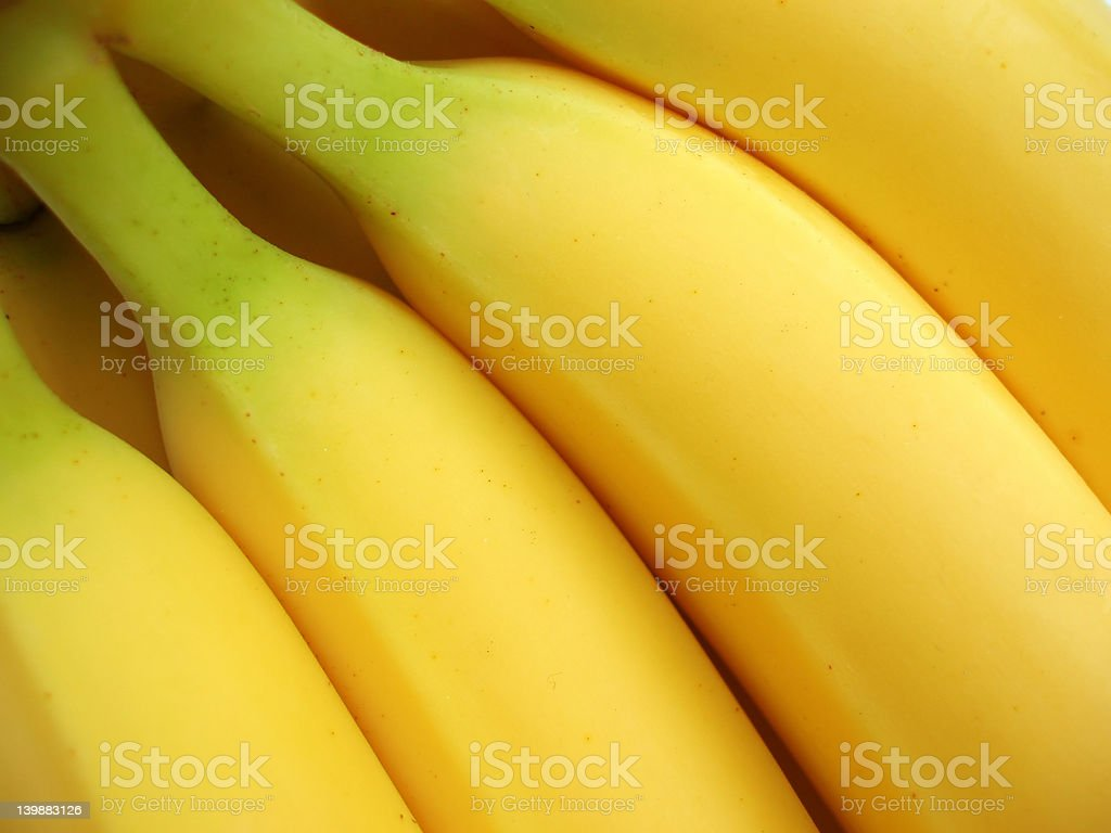 bunch of yellow bananas stock photo