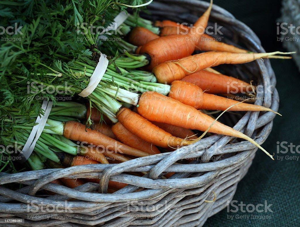 Zanahorias - foto de stock