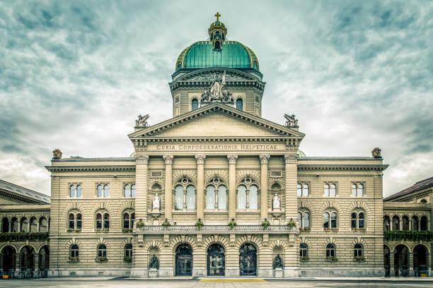 Bundeshaus, Bern, Schweiz – Foto