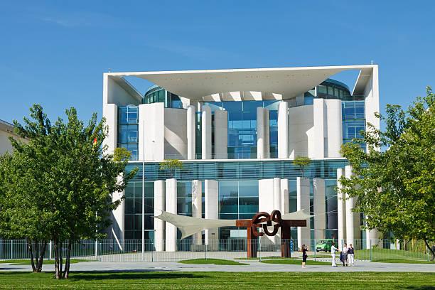 Bundeskanzleramt (Chancellery) in Berlin, Germany stock photo