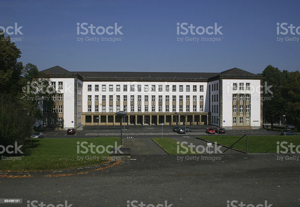 Bundessozialgericht in Kassel (ehemals auch Bundesarbeitsgericht) royalty free stockfoto