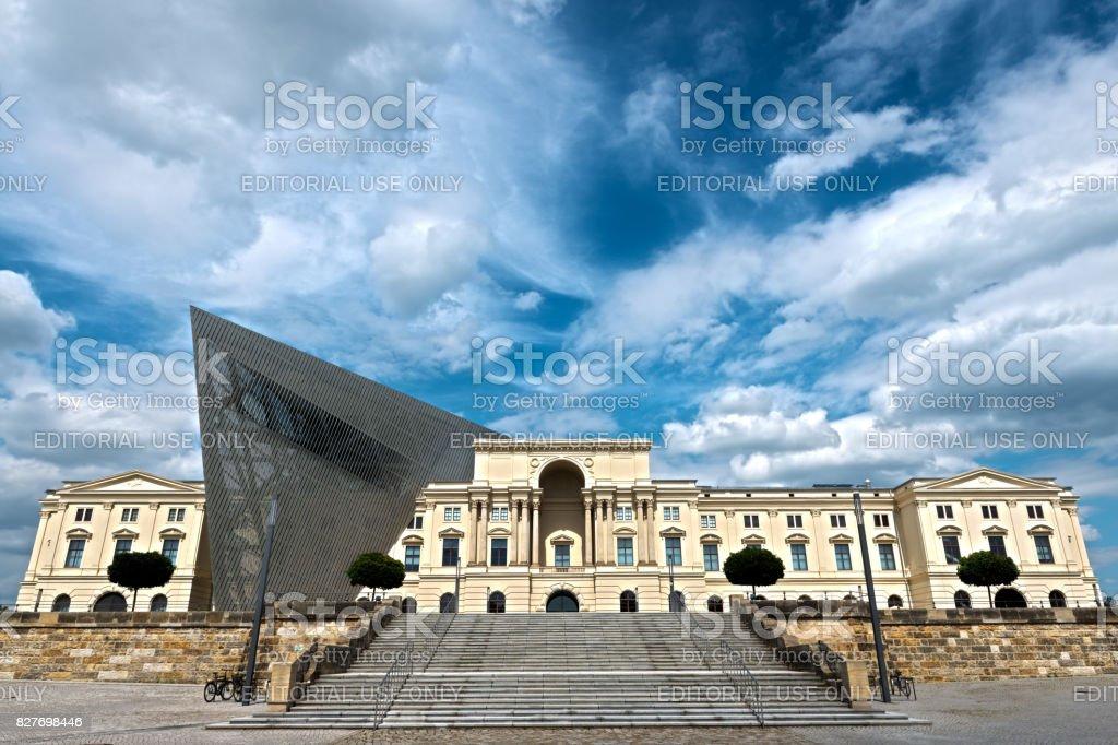 Bundeswehr Military History Museum in Dresden stock photo