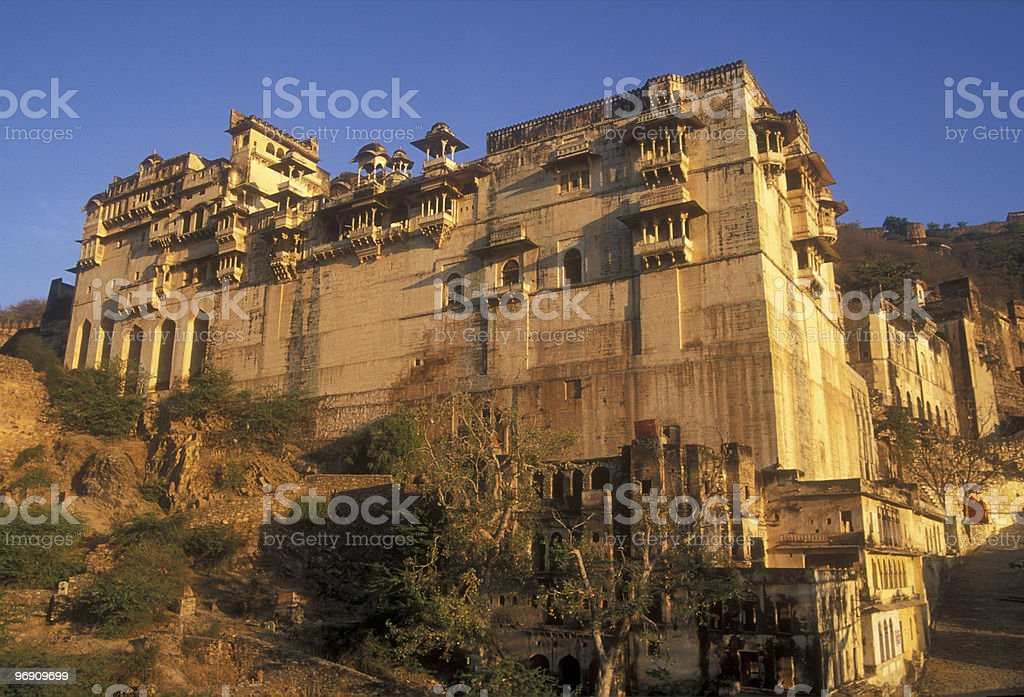 Bundi Palace royalty-free stock photo